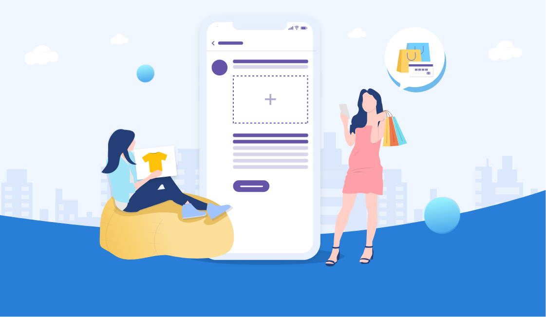 viber messaging platform illustration