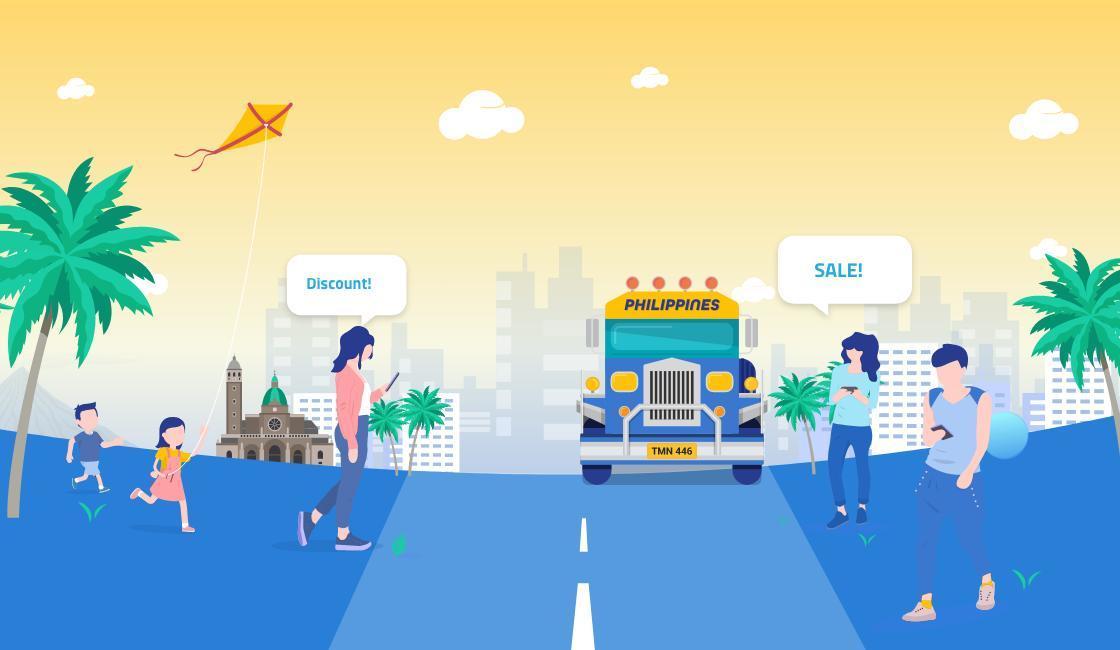 bulk sms marketing illustration